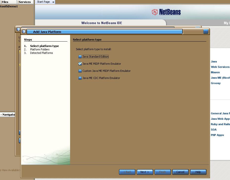 J2ME Development: NetBeans 6 7M2 vs  Eclipse MTJ 0 91 • Tarn