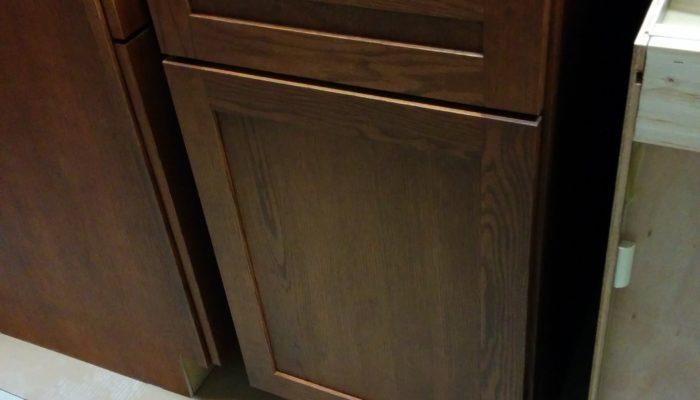 Individual cabinet pieces