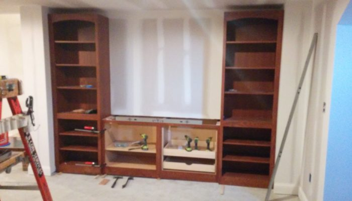 Builtin Central Cabinet