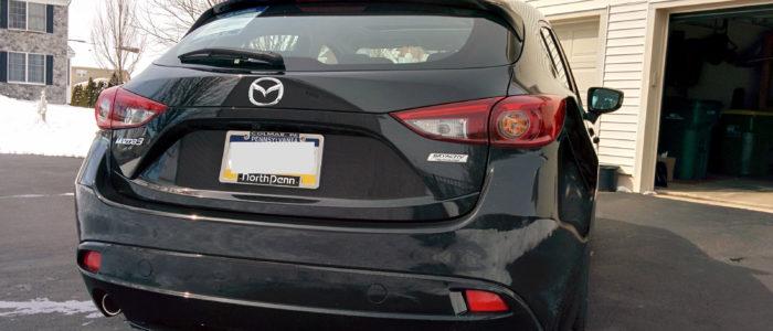 Mazda3 Rear Quarter