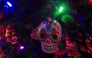 Christmas Skull
