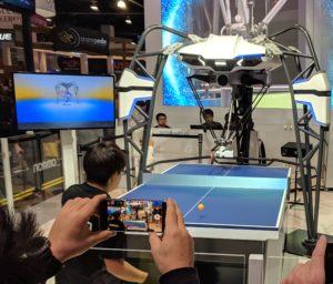 Omron Ping Pong Robot