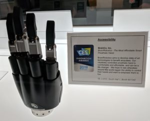 Brain Robotics Smart hand
