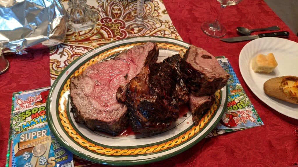 Medium Rare Prime Rib Roast
